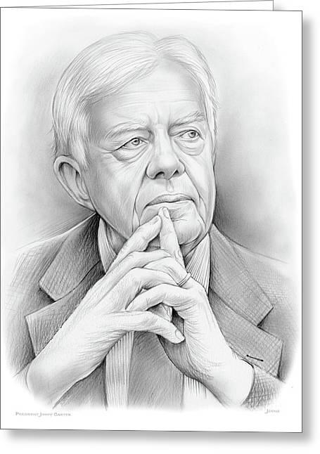 President Carter Greeting Card