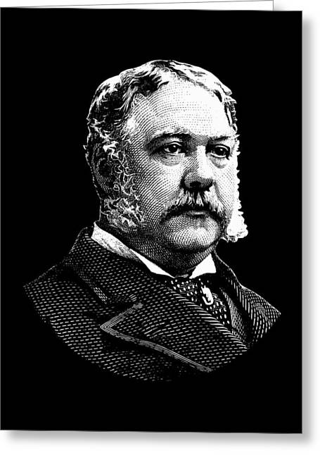 President Chester Arthur Greeting Card by War Is Hell Store