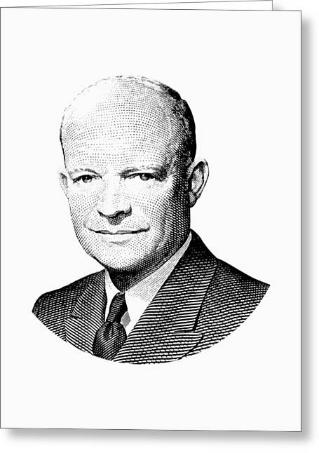 President Dwight Eisenhower Graphic Greeting Card