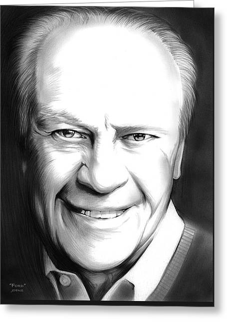 President Ford Greeting Card