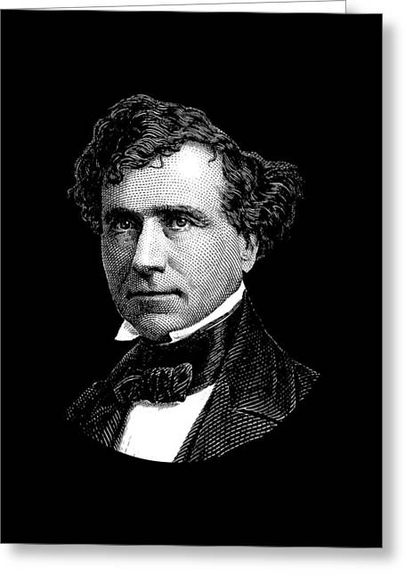 President Franklin Pierce Graphic Greeting Card