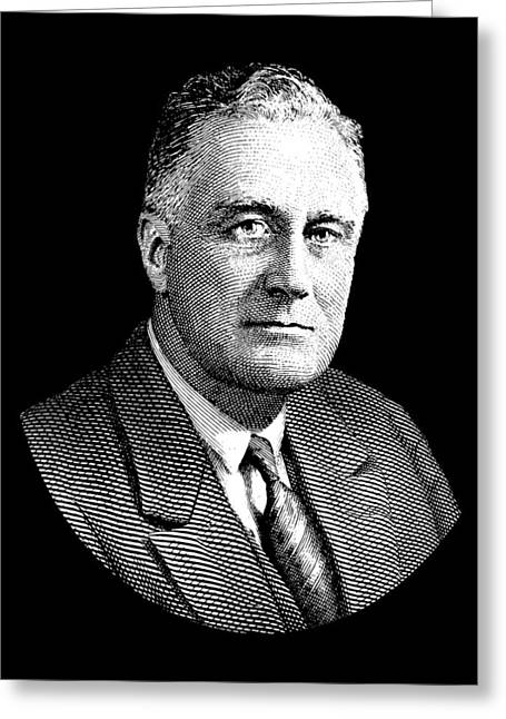 President Franklin Roosevelt Graphic Greeting Card