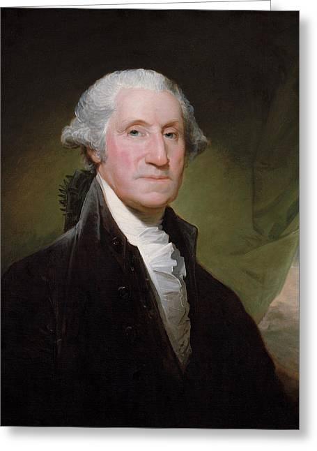 President George Washington Greeting Card