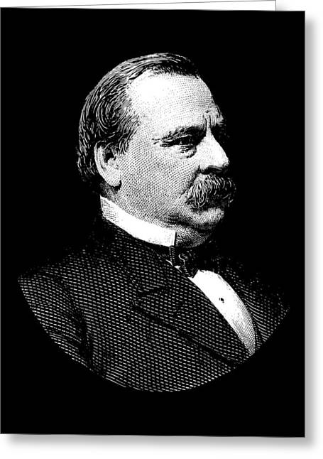 President Grover Cleveland Graphic Greeting Card by War Is Hell Store