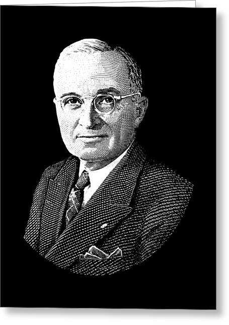 President Harry Truman Graphic Greeting Card