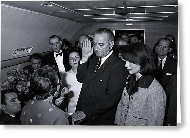 President Lyndon Baines Johnson Greeting Card
