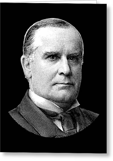 President Mckinley Graphic Greeting Card by War Is Hell Store