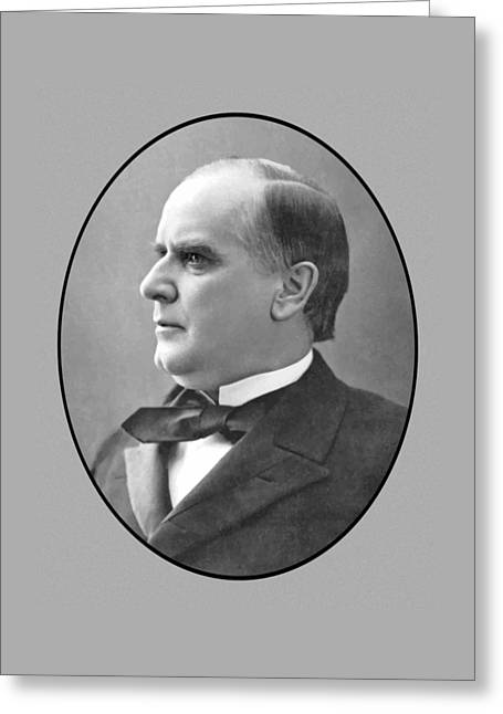 President Mckinley Greeting Card