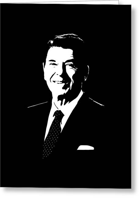 President Ronald Reagan Greeting Card