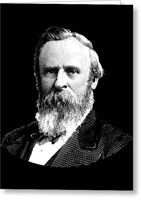 President Rutherford B. Hayes Graphic Greeting Card