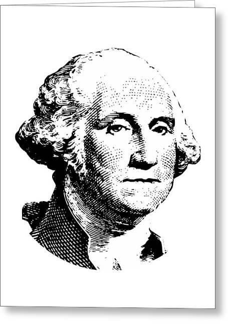 President Washington Greeting Card