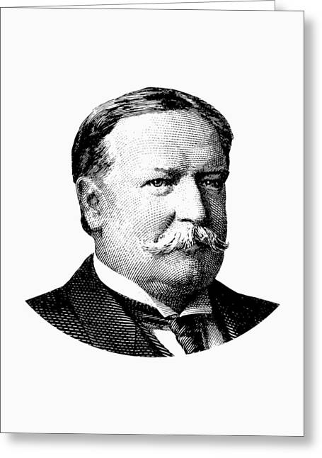 President William Howard Taft Graphic Greeting Card by War Is Hell Store