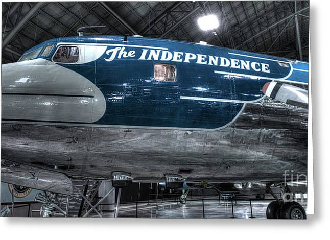 Presidential Aircraft - The Independence, Douglas Vc-118  Greeting Card