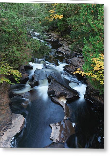 Presque Isle River Greeting Card