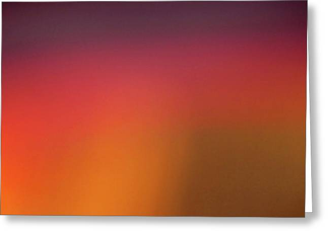 Minimalism Greeting Cards - Pretend Sunrise Greeting Card by CML Brown