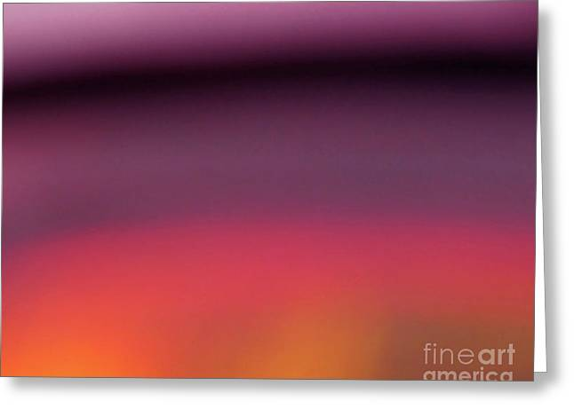 Pretend Sunset Greeting Card by CML Brown
