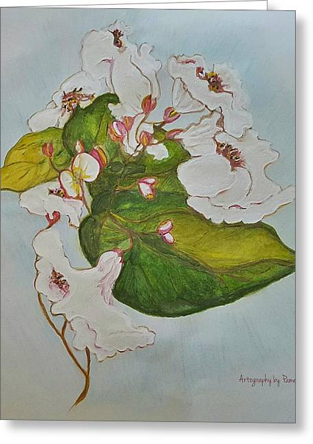 Pretender Orchid Greeting Card by ARTography by Pamela Smale Williams