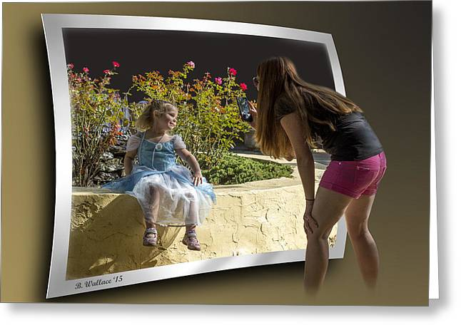 Pretty As A Picture Greeting Card by Brian Wallace