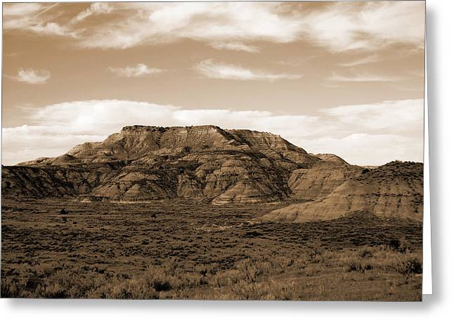 Pretty Butte Greeting Card