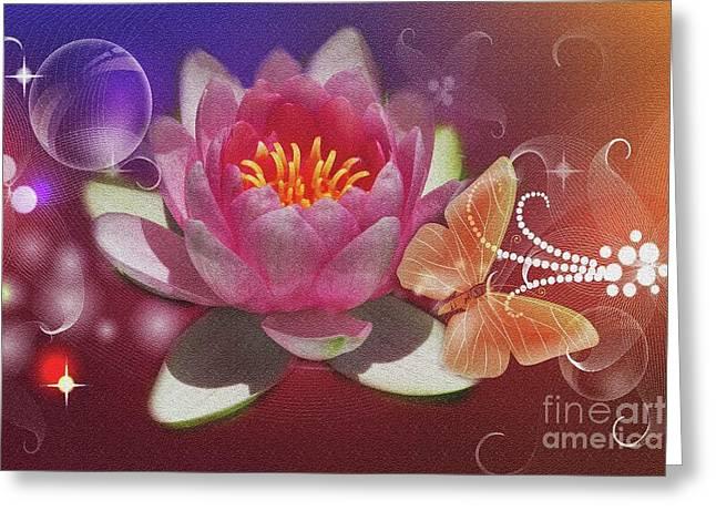 Pretty Items Greeting Card by Geraldine DeBoer