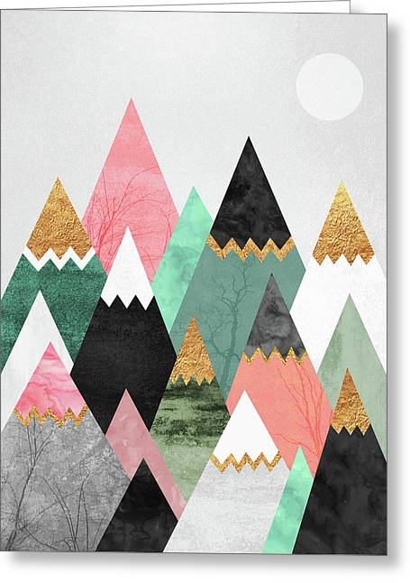 Pretty Mountains Greeting Card