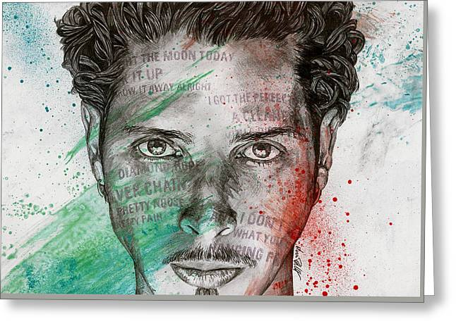 Pretty Noose - Tribute To  Chris Cornell Greeting Card