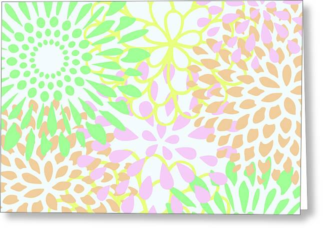 Pretty Pastels Greeting Card by Inspired Arts