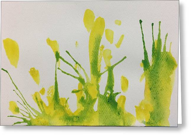 Pretty Weeds Greeting Card