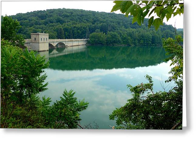 Prettyboy Reservoir Dam Greeting Card