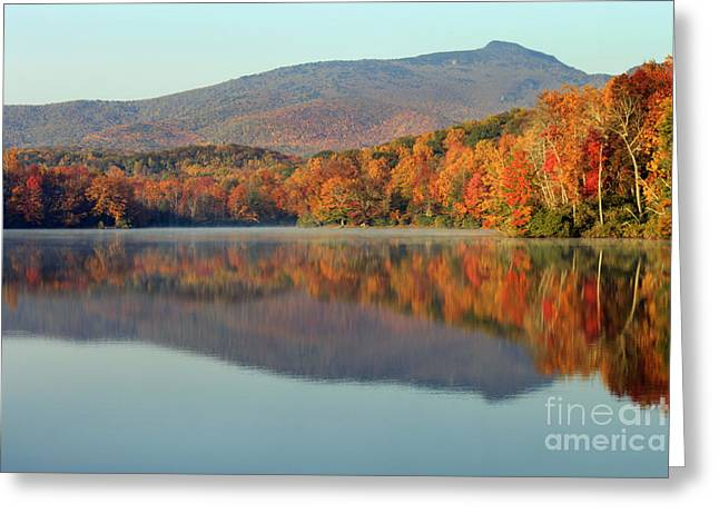 Price Lake Greeting Card by Lena Auxier