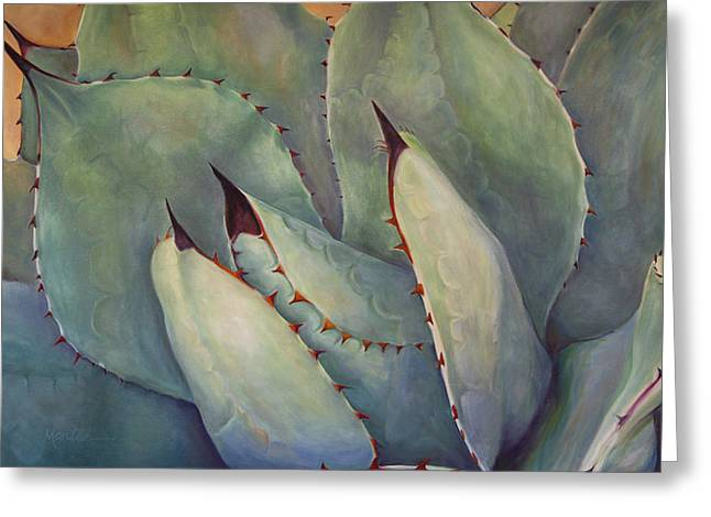 Athena Greeting Cards - Prickly 2 Greeting Card by Athena  Mantle