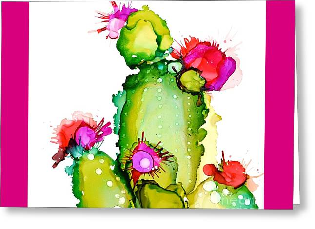 Prickly Pear Cooler Greeting Card