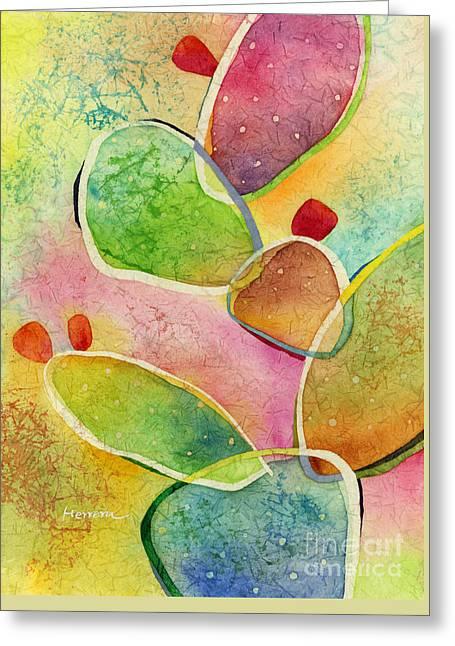 Prickly Pizazz 1 Greeting Card by Hailey E Herrera