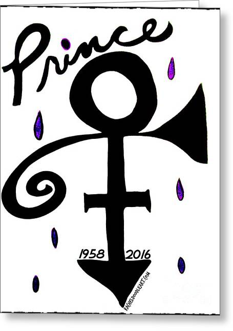 Prince 1958-2016 Greeting Card