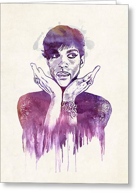 Prince Greeting Card by - BaluX -