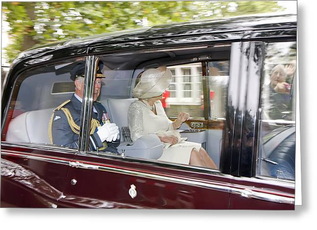 Prince Charles And Camilla Greeting Card