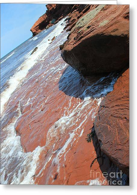 Prince Edward Island Ocean Shore Greeting Card