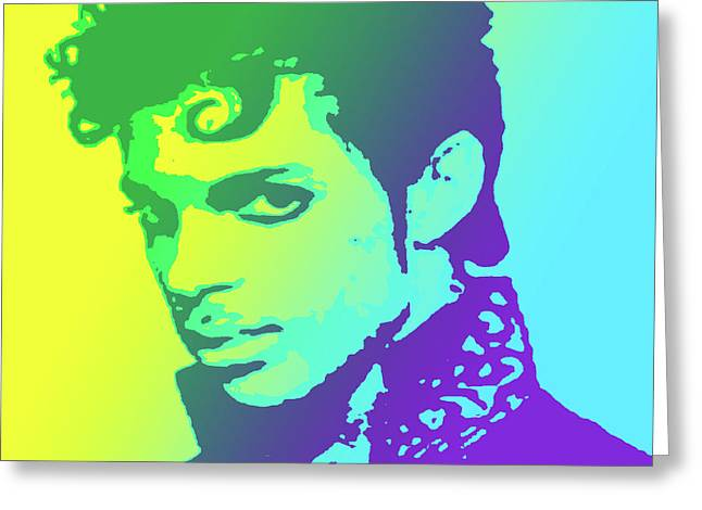 Prince Greeting Card by Greg Joens