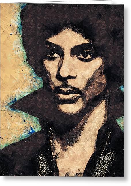 Prince Illustration Greeting Card