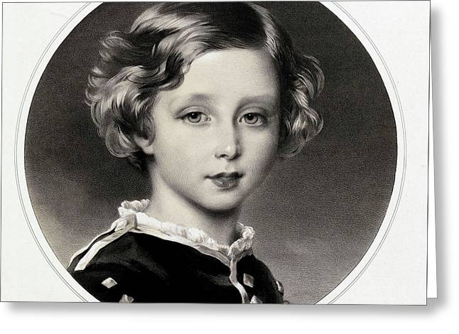 Prince Leopold  Duke Of Albany Greeting Card