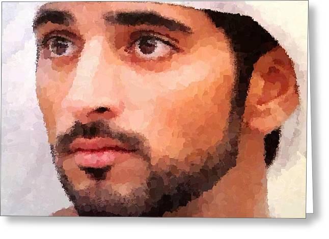 Prince Of Dubai Greeting Card