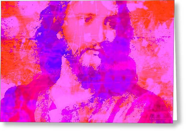 Prince Of Peace Greeting Card by Brian Broadway
