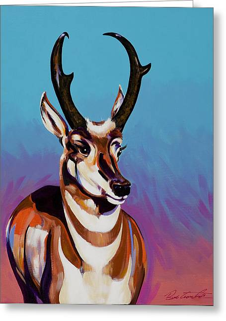 Prince Of The Prairies Greeting Card by Bob Coonts