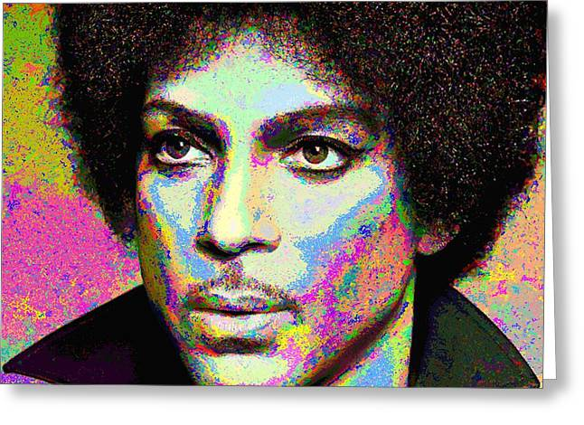 Prince Portrait Greeting Card