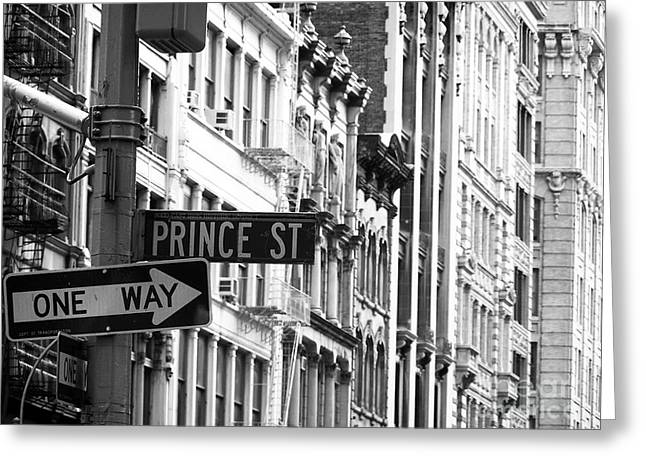 Prince Street Greeting Card