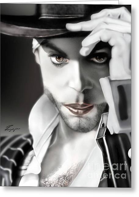 Prince The Eyes Have It 1a Greeting Card