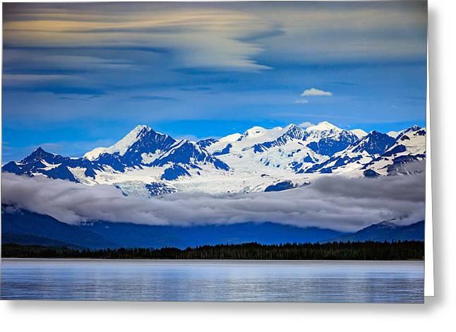 Prince William Sound, Alaska Greeting Card by Rick Berk