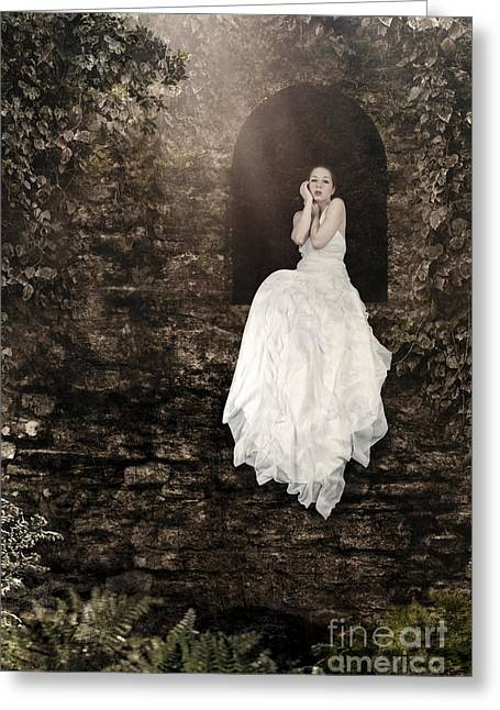 Princess In The Tower Greeting Card