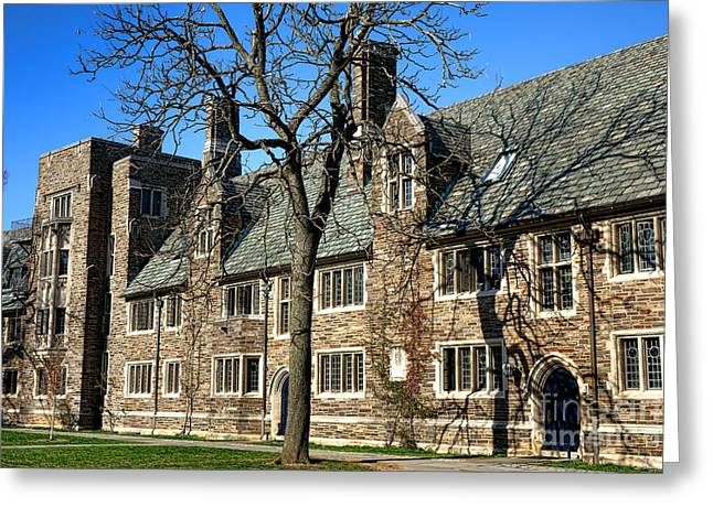 Princeton University 1901 Hall Greeting Card by Olivier Le Queinec