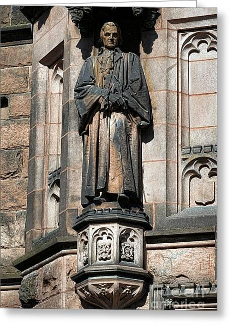 Princeton University J Witherspoon Statue  Greeting Card